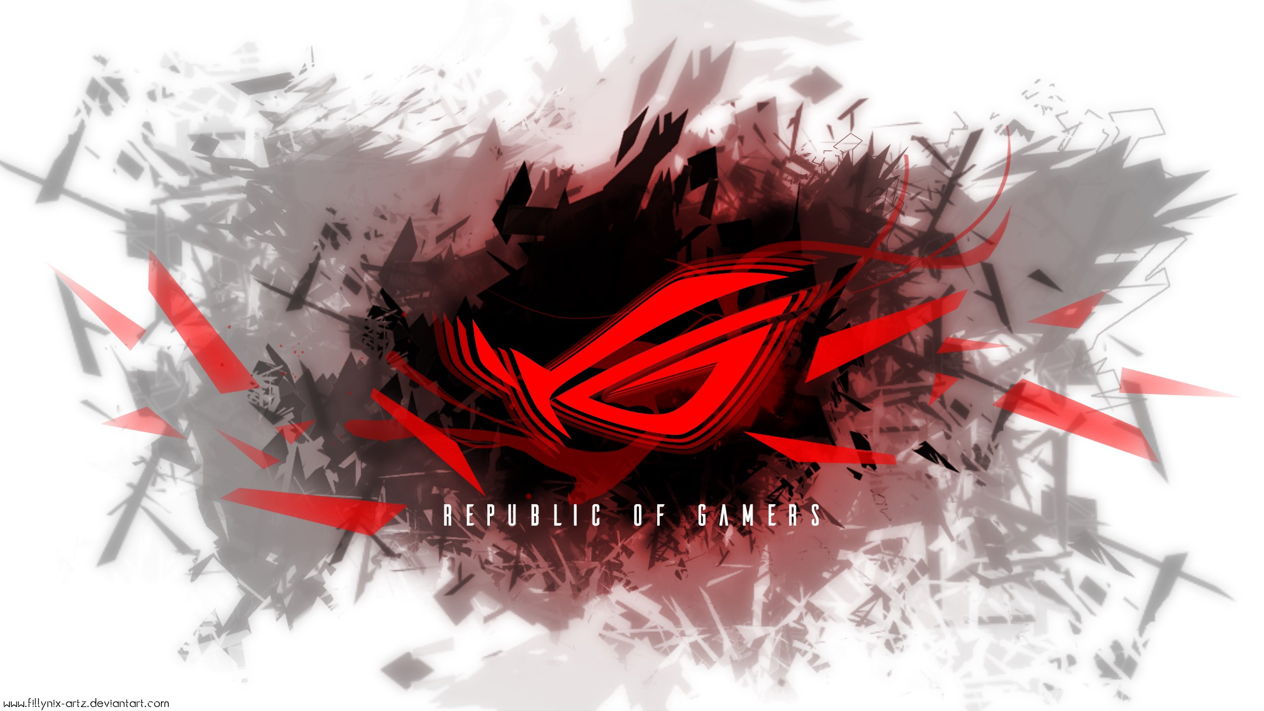 Asus Mobile Wallpaper: Republic Of Gamers Wallpapers By FillyNix Artz On