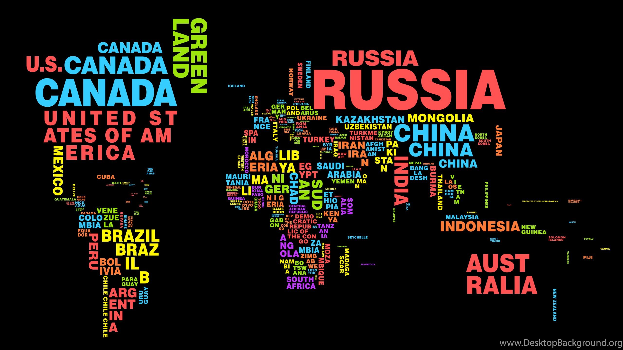 World Map Typography Country Best 2560x1440 Hd Wallpapers And