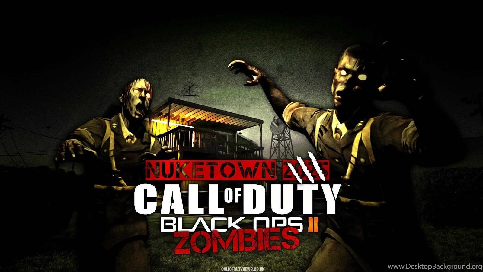 Call Of Duty Black Ops 2 Zombies Wallpapers Wallpaper Desktop