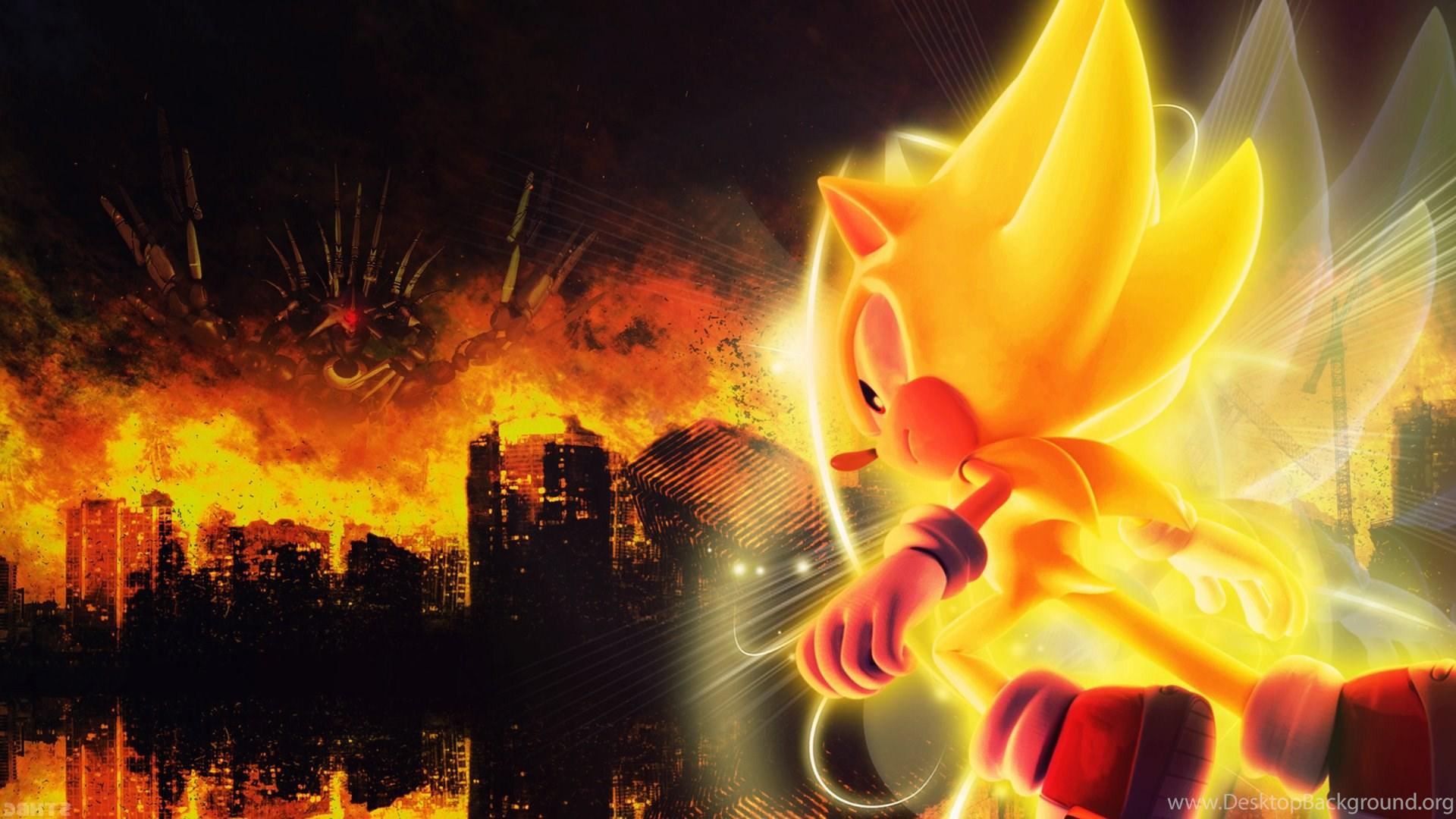 Download super sonic wallpaper images desktop background - Super sonic wallpaper free download ...