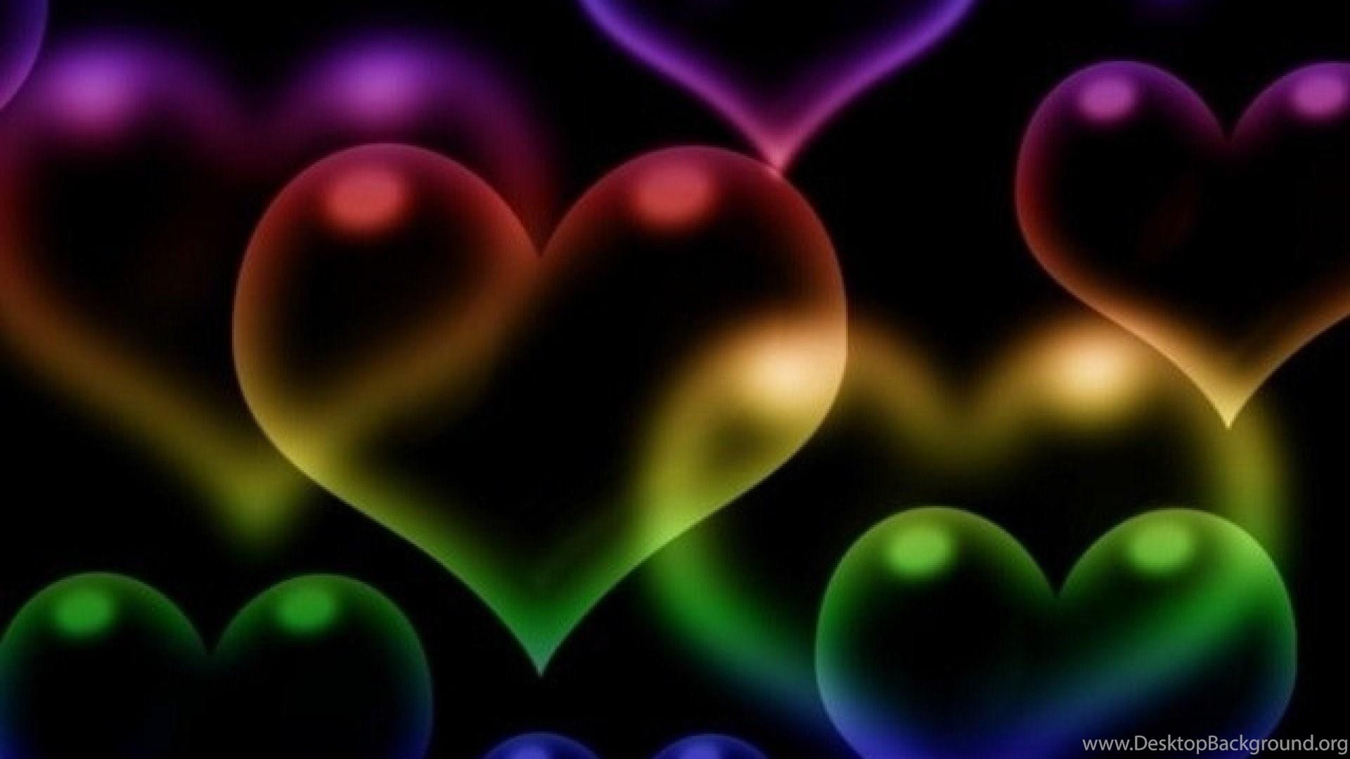 Картинки сердечки для телефона красивые