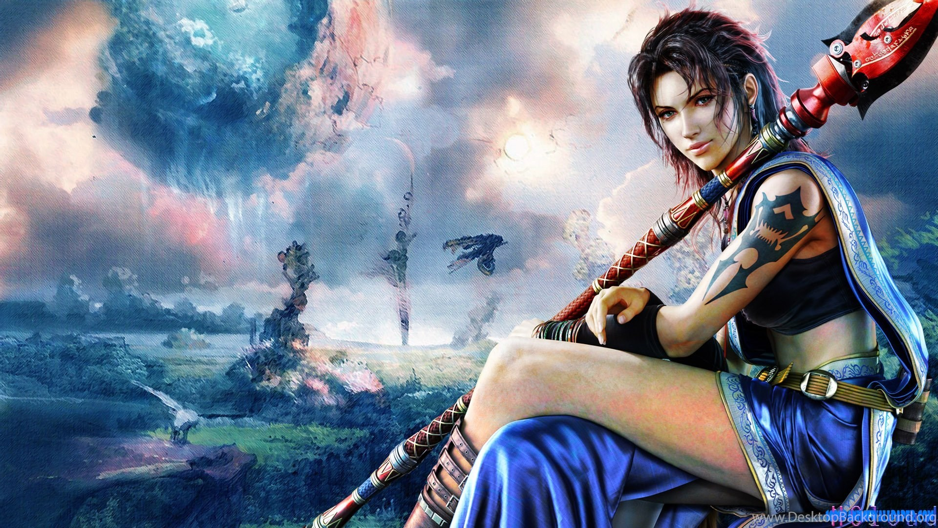 Final Fantasy 13 Fang Lightning 1920x1080 Hd Wallpapers And Free
