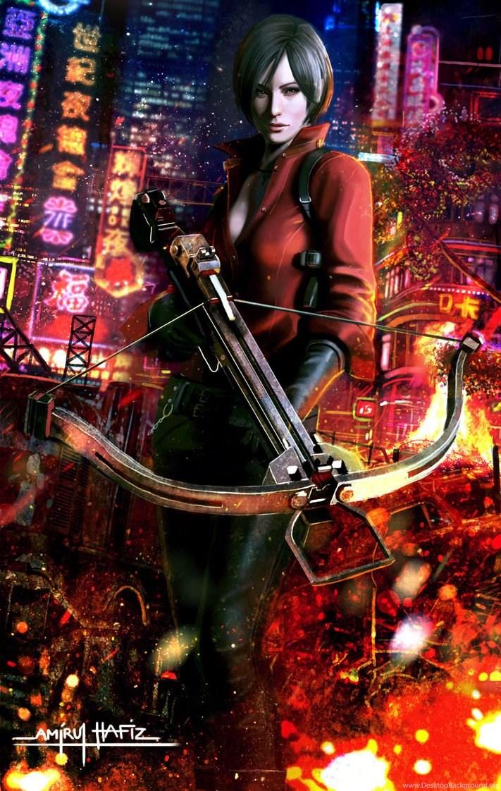 Ada Wong Resident Evil 6 By Amirulhafiz On Deviantart Desktop