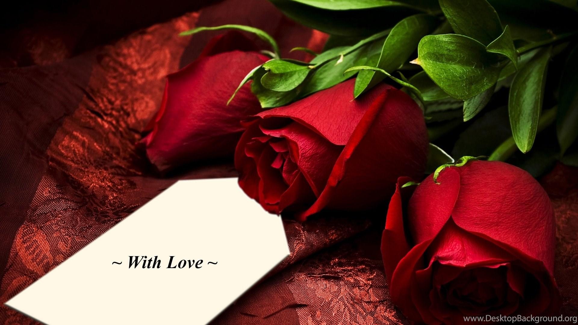 Red Rose Love Quotes Quotesgram Desktop Background
