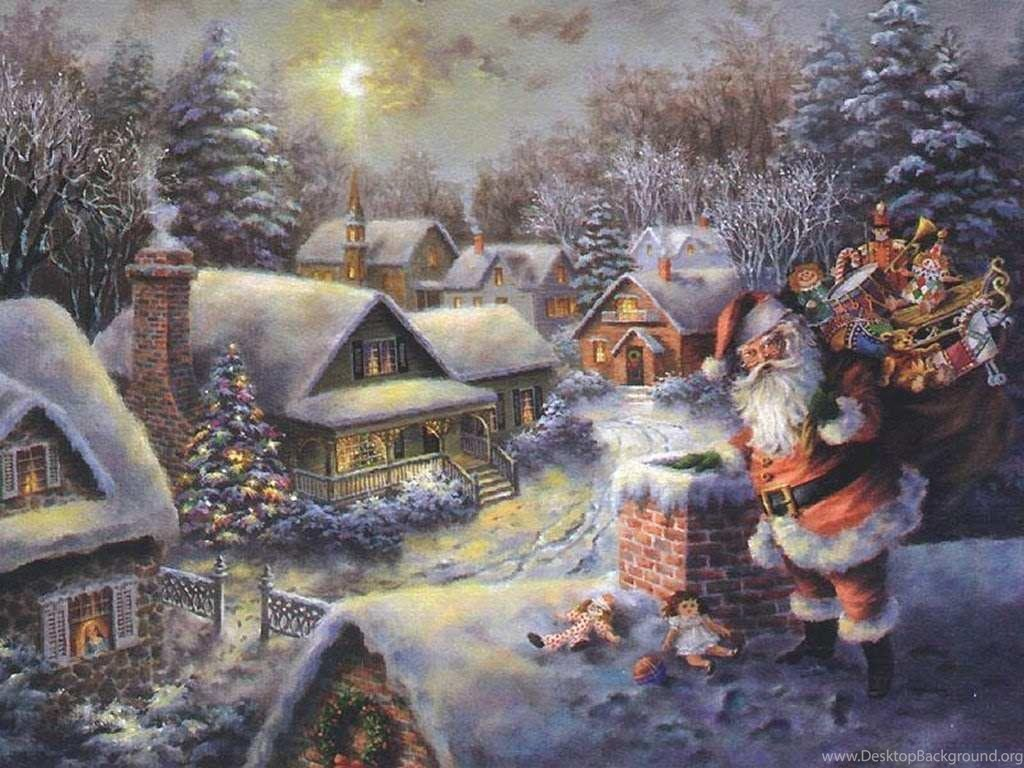 Old Fashioned Christmas Wallpapers 2015 Grasscloth Wallpapers ...