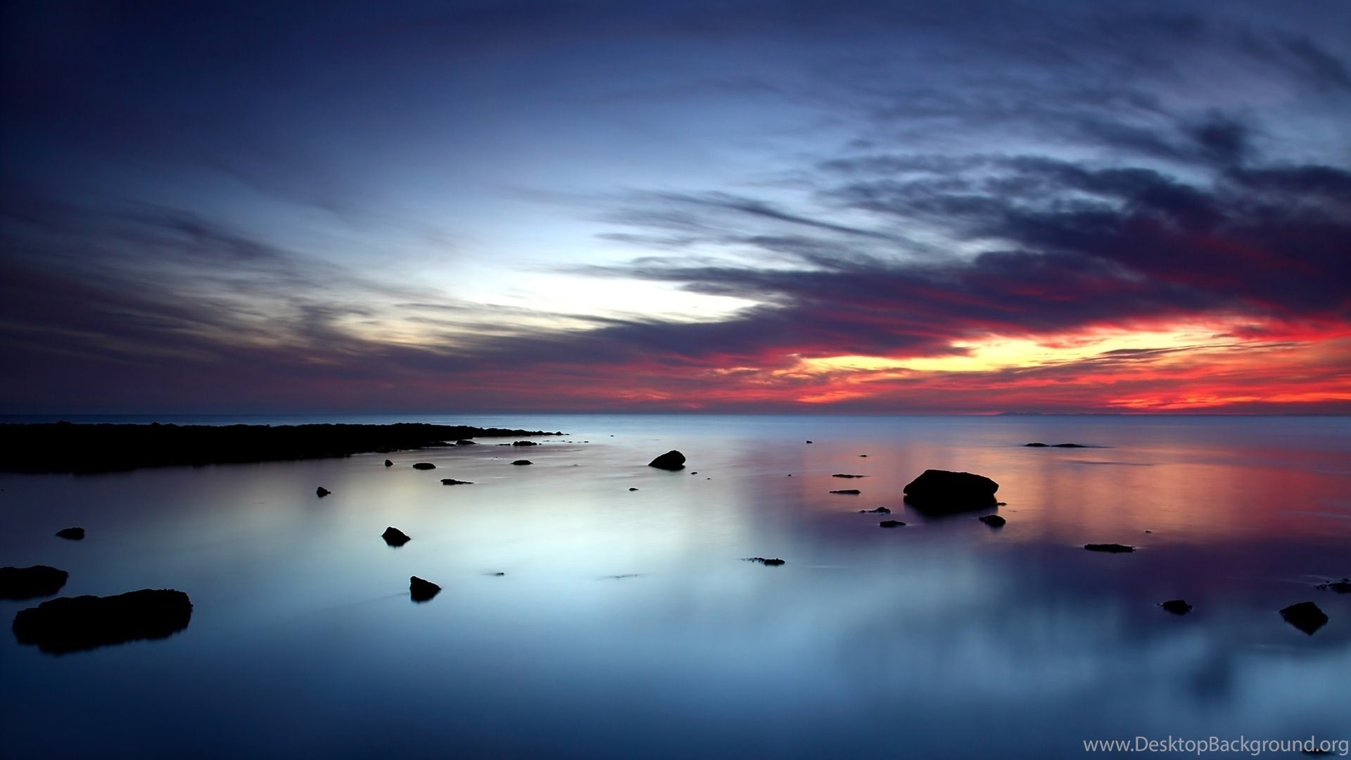 Ocean Sunset Wallpapers HD Desktop Background