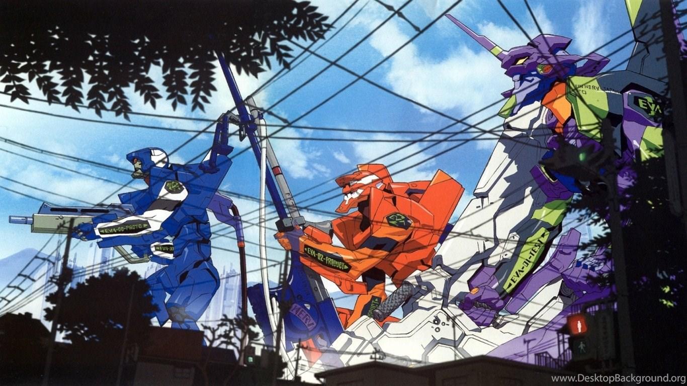 Bunch Of Neon Genesis Evangelion Wallpapers Album On Imgur ...