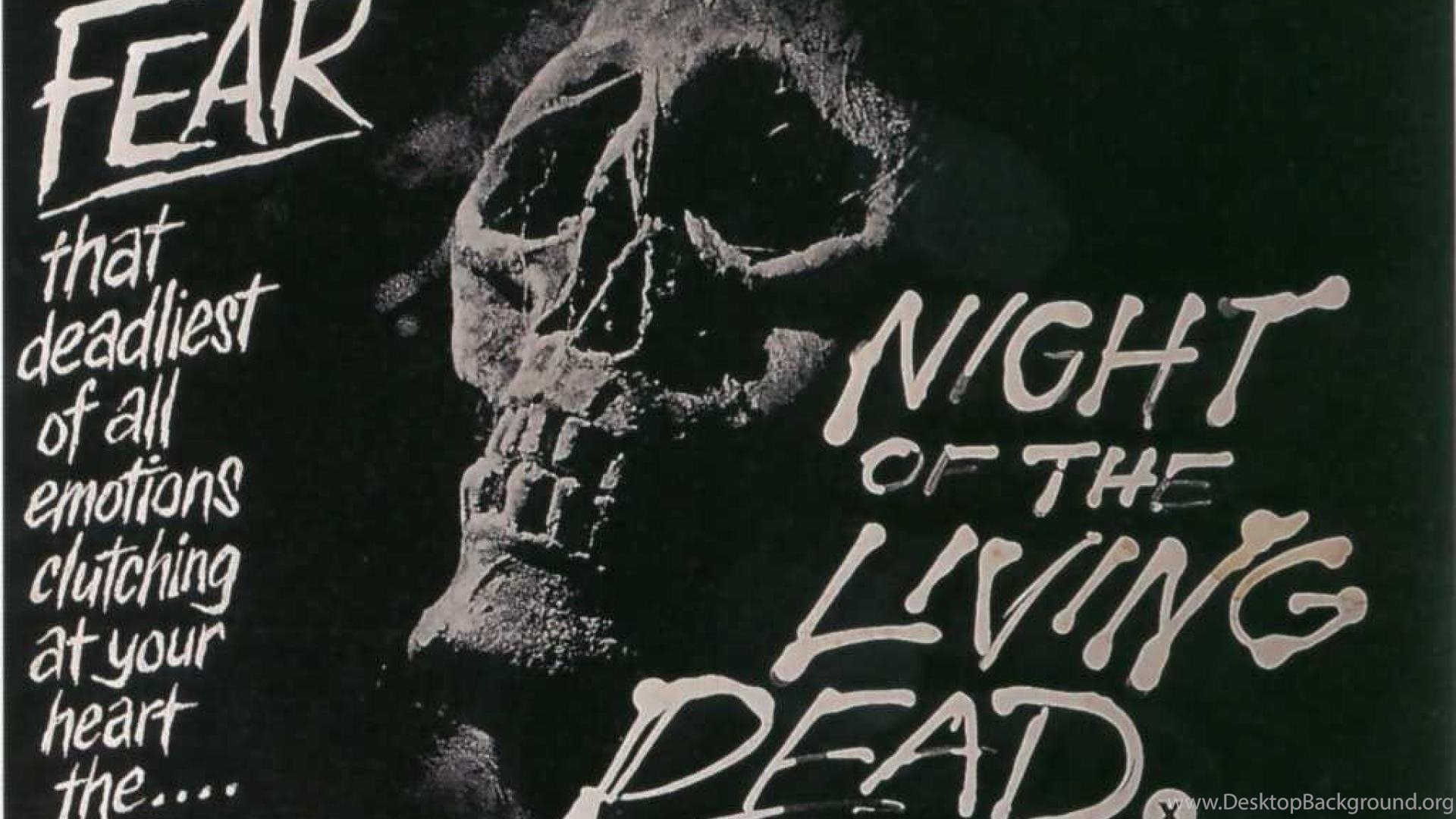Night Of The Living Dead Movies Poster Hd Wallpapers Desktop