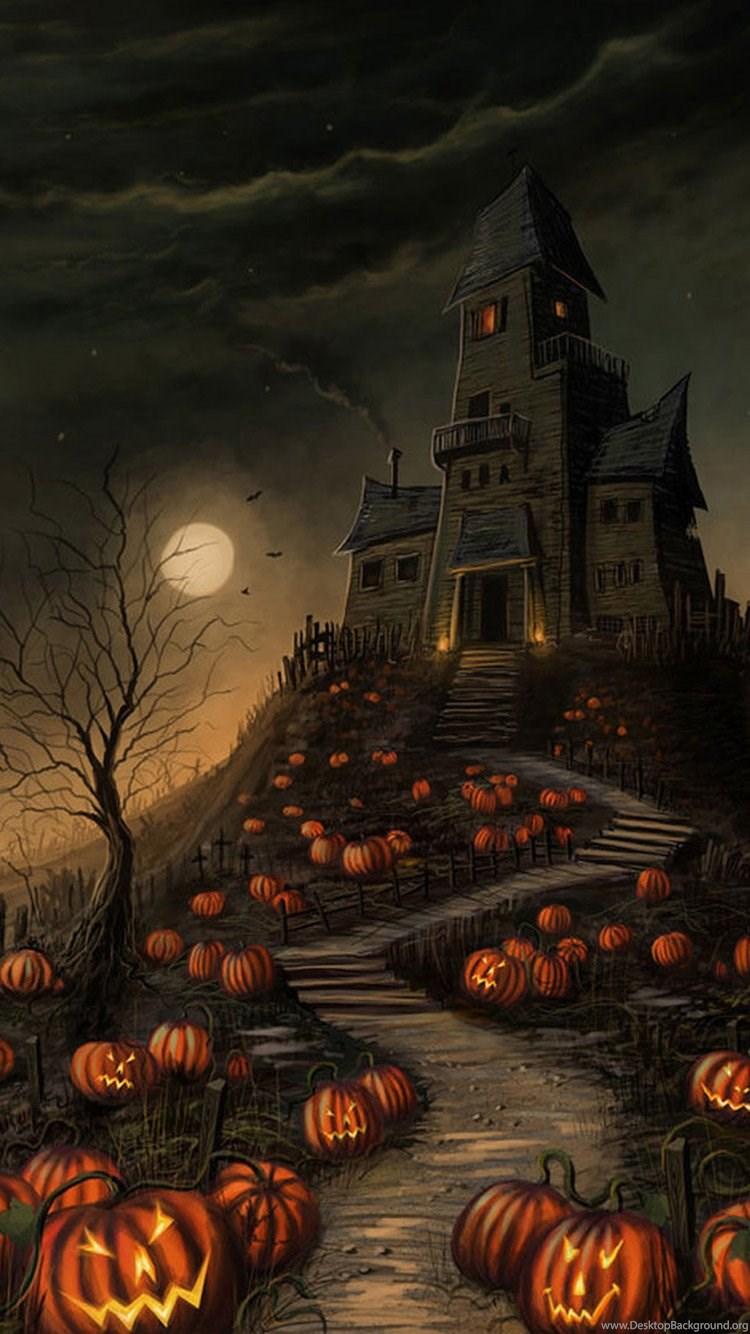 51 Scary Iphone 6 Halloween Wallpapers Desktop Background