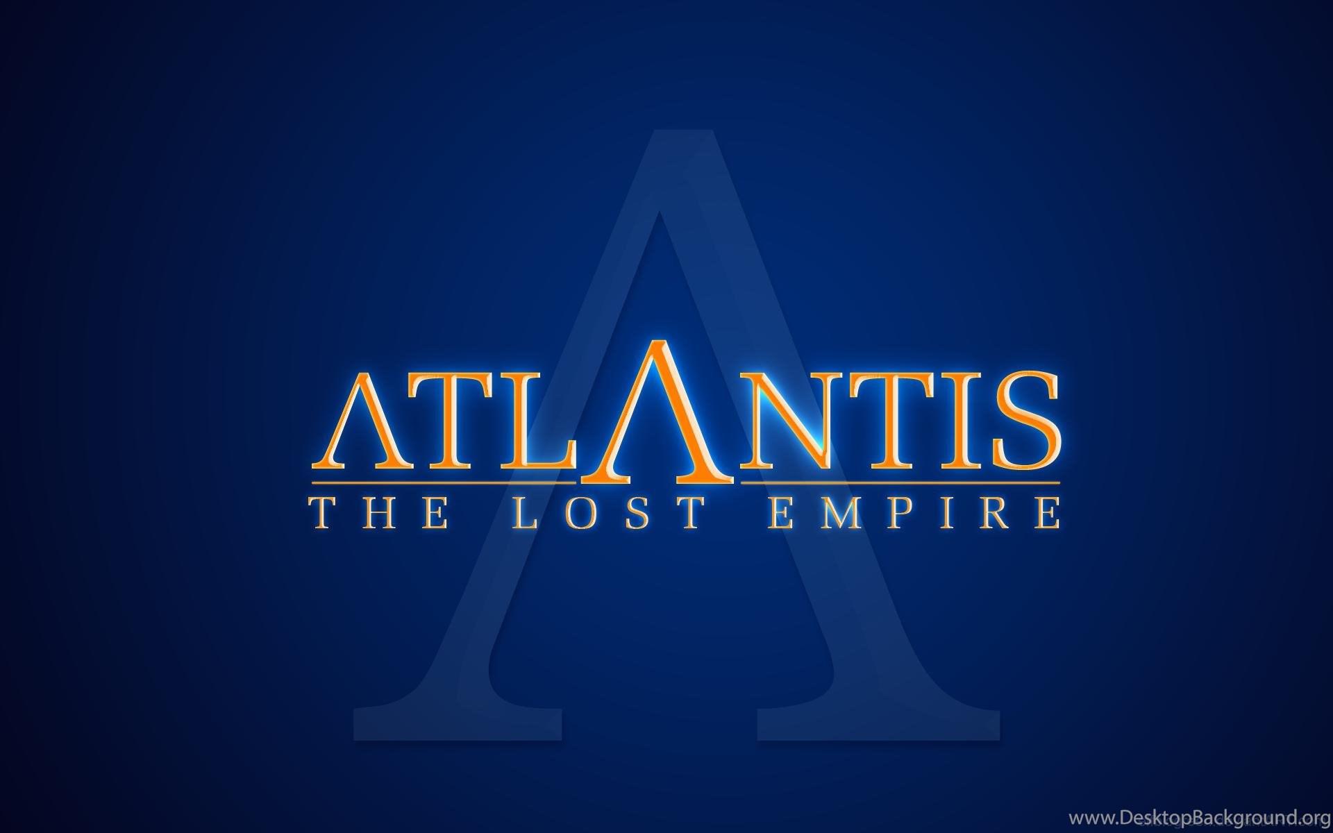 Atlantis The Lost Empire Wallpapers Atlantis Wallpapers 33469522