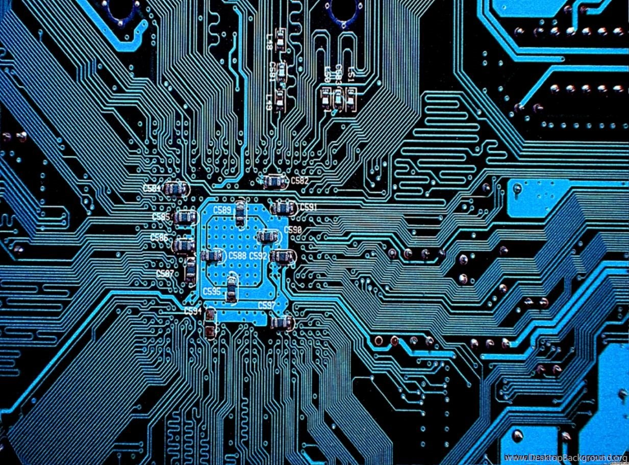 Circuit Board Wallpapers Desktop Background Pics Photos Printed Pictures 1233x911