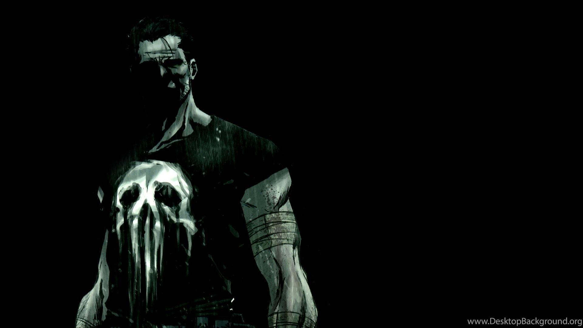 The Punisher Wallpapers Hd Backgrounds Desktop Background
