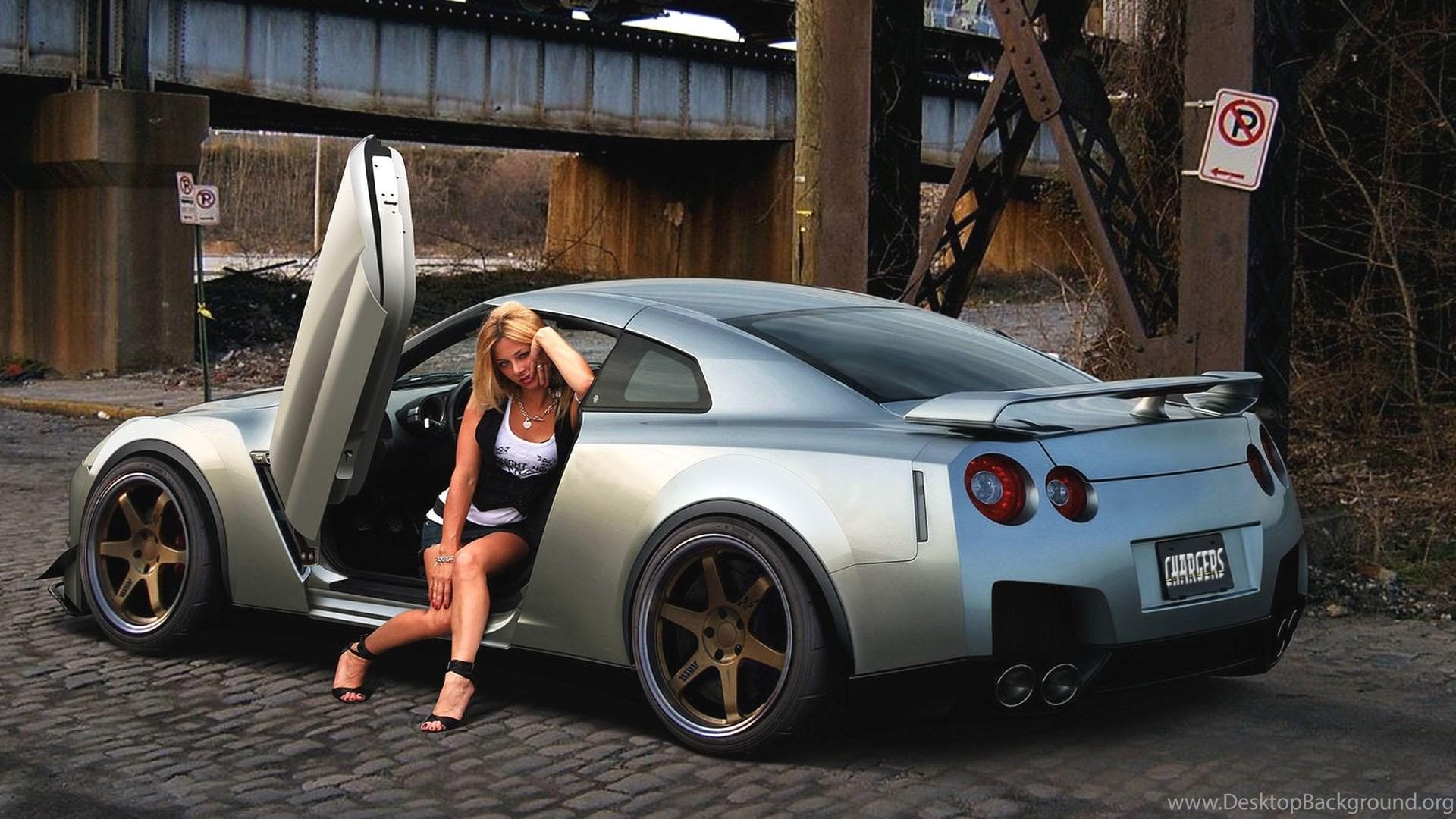 Women Cars Pinups Jdm Japanese Domestic Market Wallpapers Desktop Background