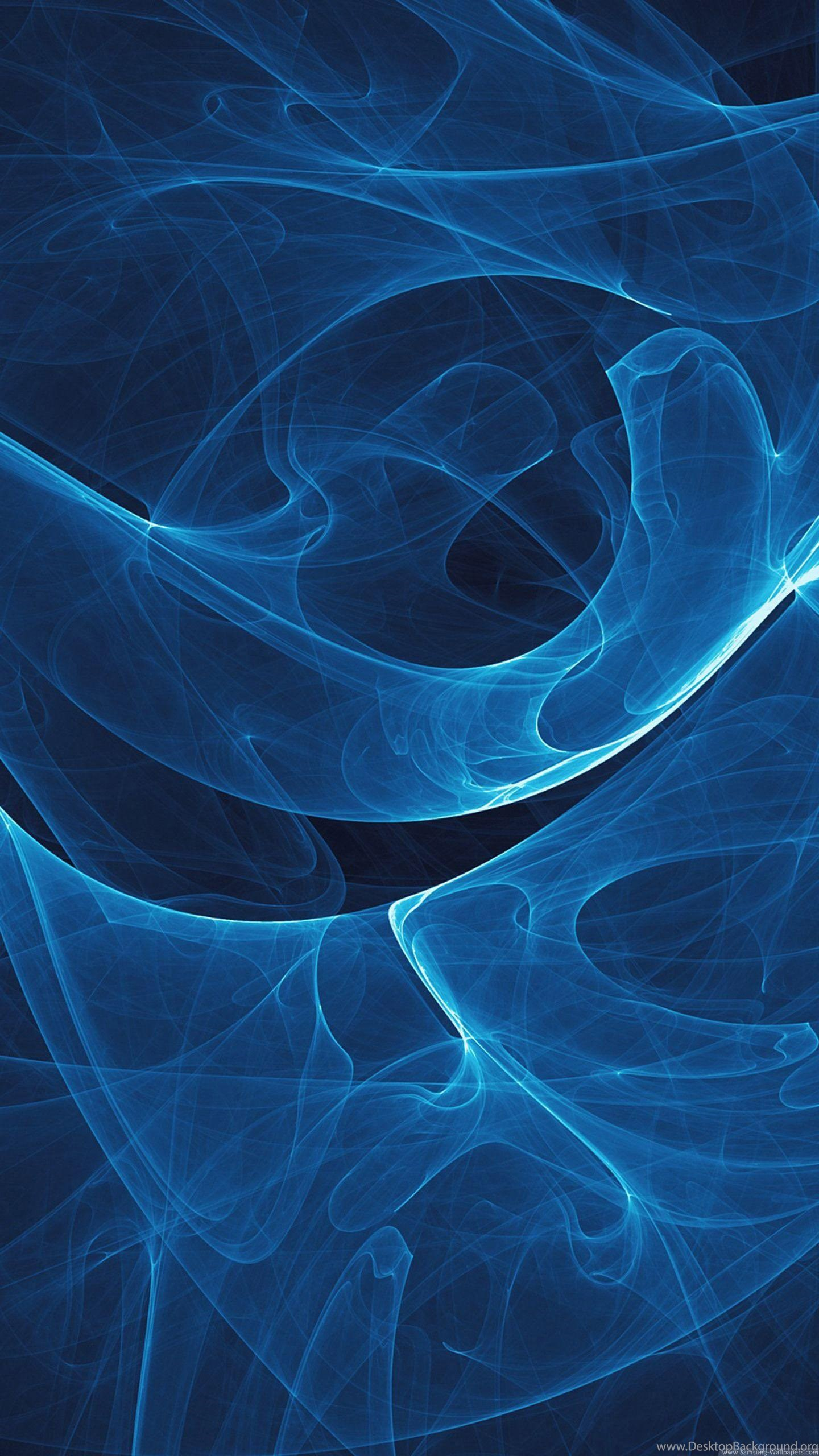 Abstract Blue Light Lock Screen 1440x2560 Samsung Galaxy S5 Desktop Background