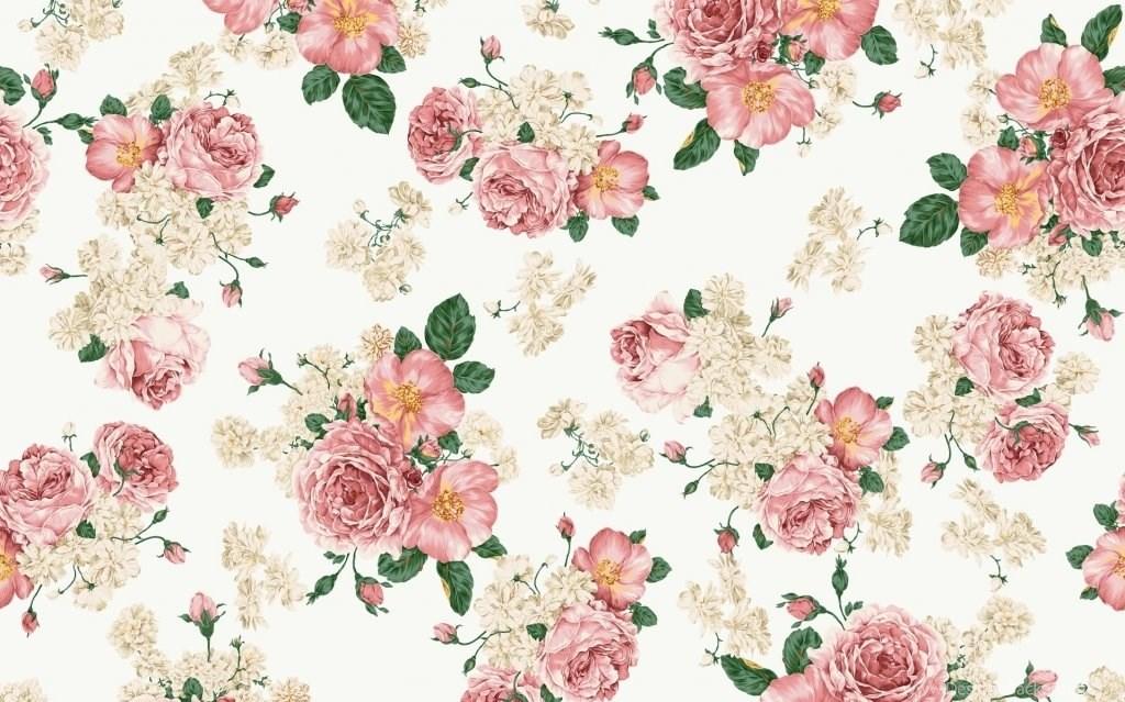 vintage flowery wallpapers desktop background