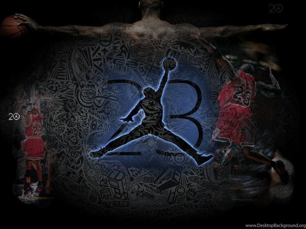 cool air jordan logo wallpaper images desktop background