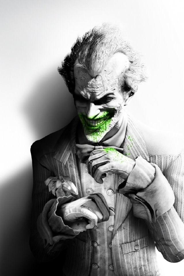 Iphone 4s 4 Joker Wallpapers Hd Desktop Backgrounds 640x960 Desktop Background