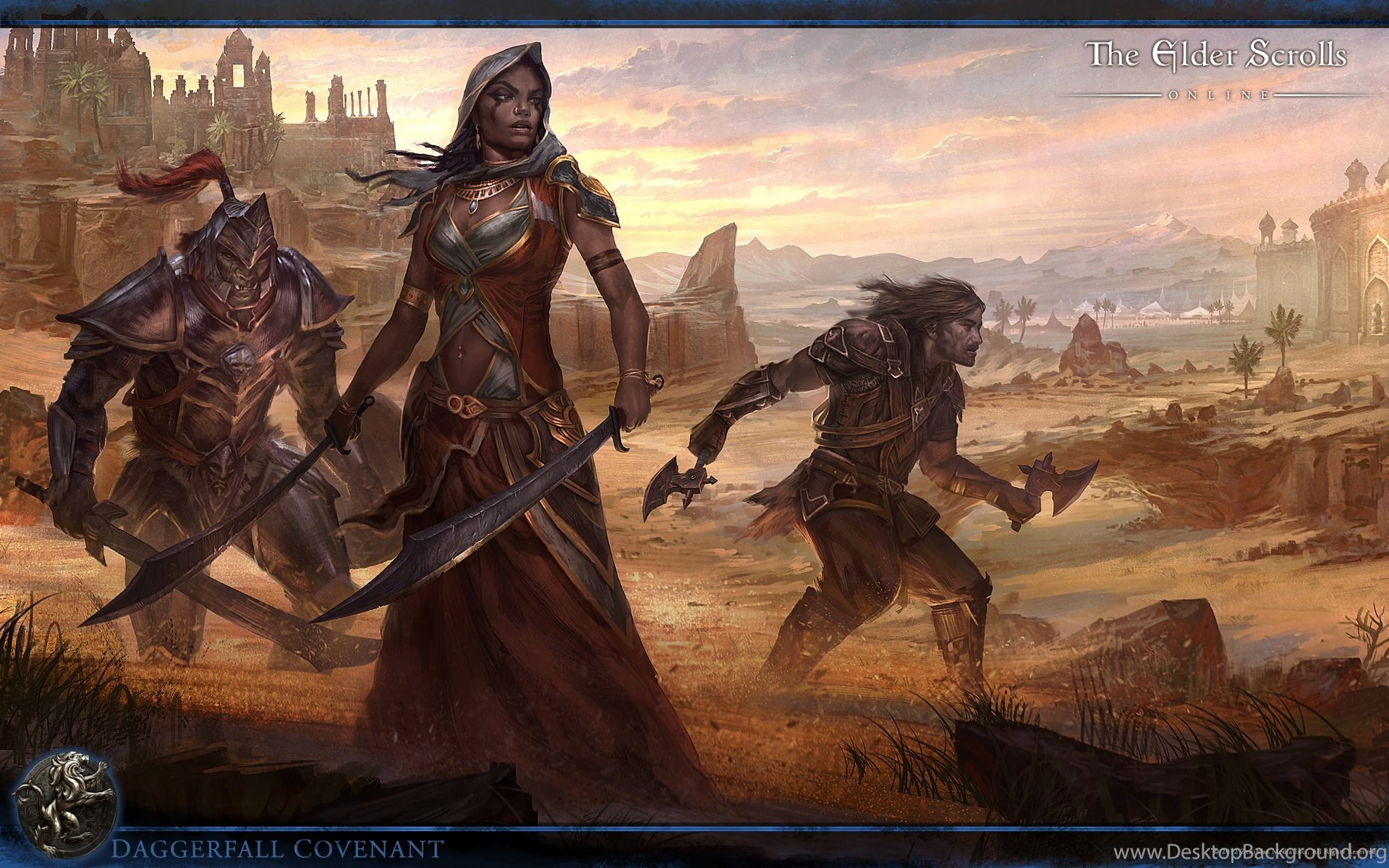 Wallpapers The Elder Scrolls Online Daggerfall The Elder