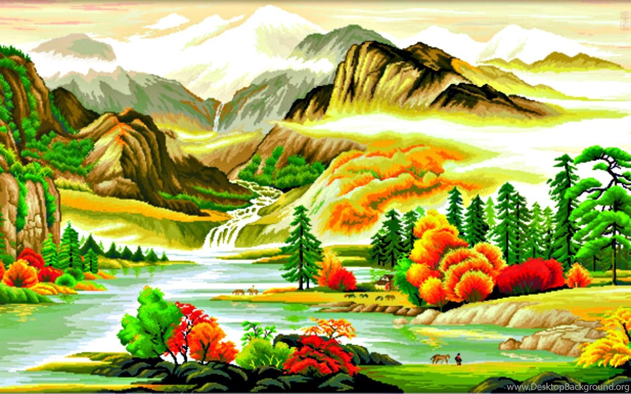 Beautiful Painting Wallpapers Download Free Hd
