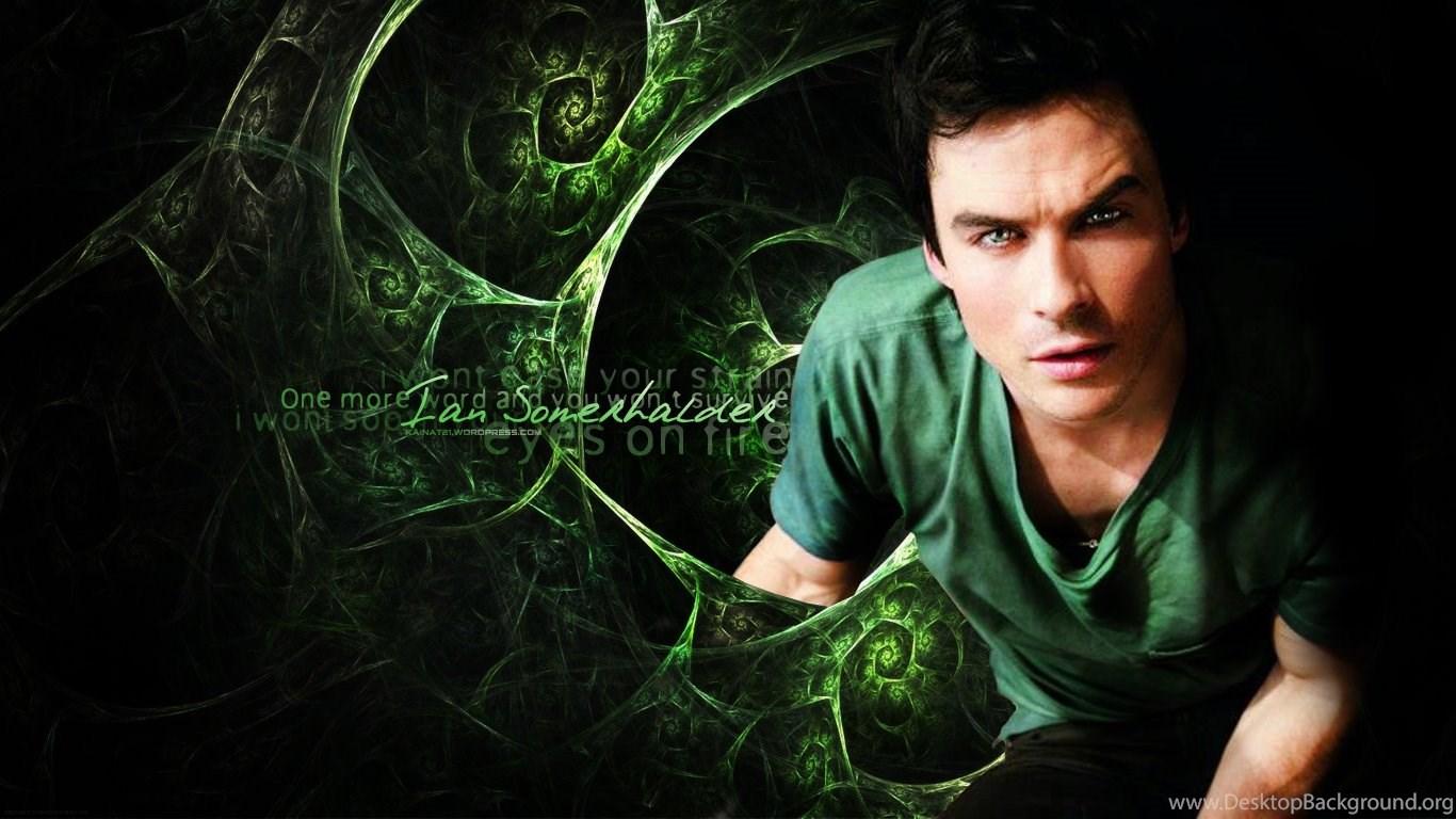 Wallpapers Shirtless Ian Somerhalder Vampire Diaries 1366x768