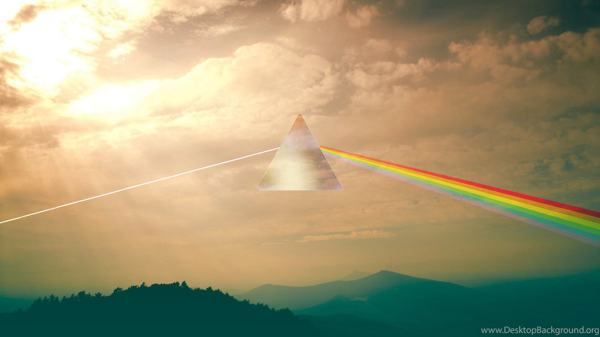 Dark Side Of The Moon Inspired Wallpapers Oc 1920x1080