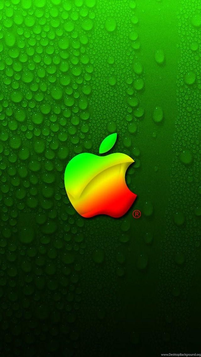 Classic Apple Logo IPhone Wallpapers 5s 4s 3G Desktop Background