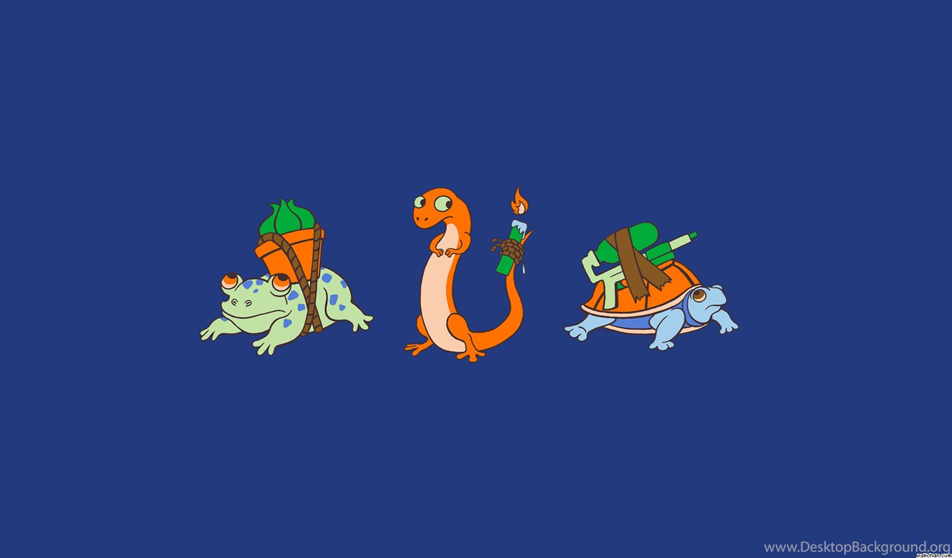 wallpapers hip pokemon funny frog turtle salamander squirtle