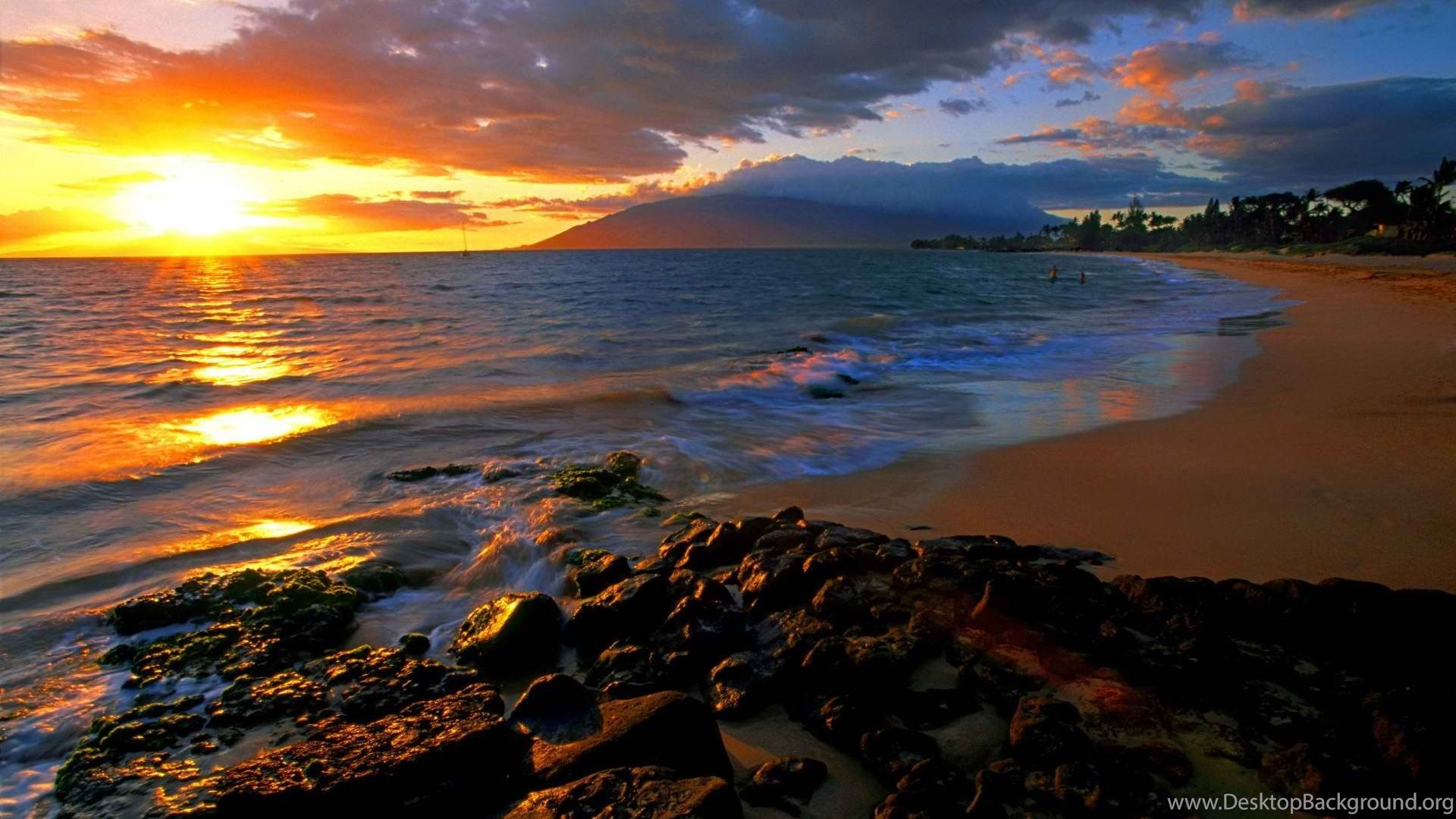 wallpapers maui sunset world fresh new hd best quality 1920x1080