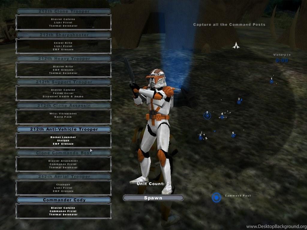Commander Cody Star Wars Battlefront 2 By Josh01699 On Deviantart Desktop Background
