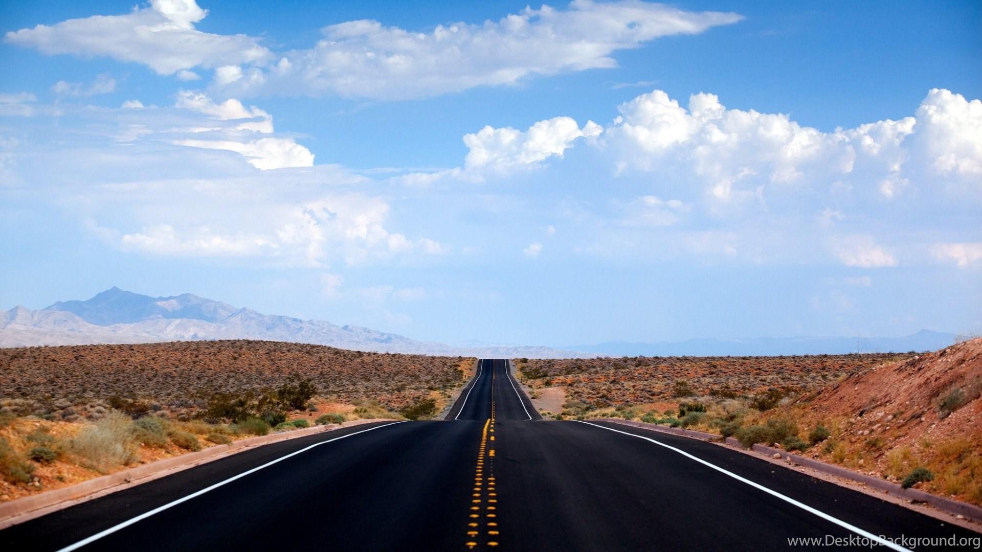 1920x1080 desert road nevada wallpapers desktop background - Nevada wallpaper hd ...