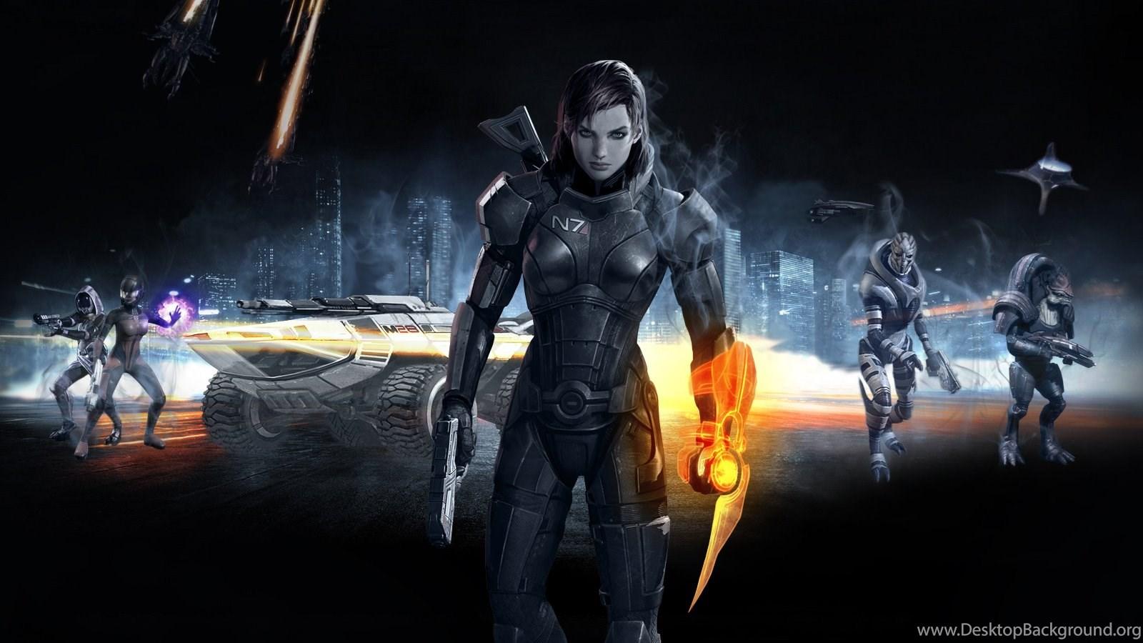 Mass Effect 3 Screen Femshep By Warhound Cmp On Deviantart Desktop