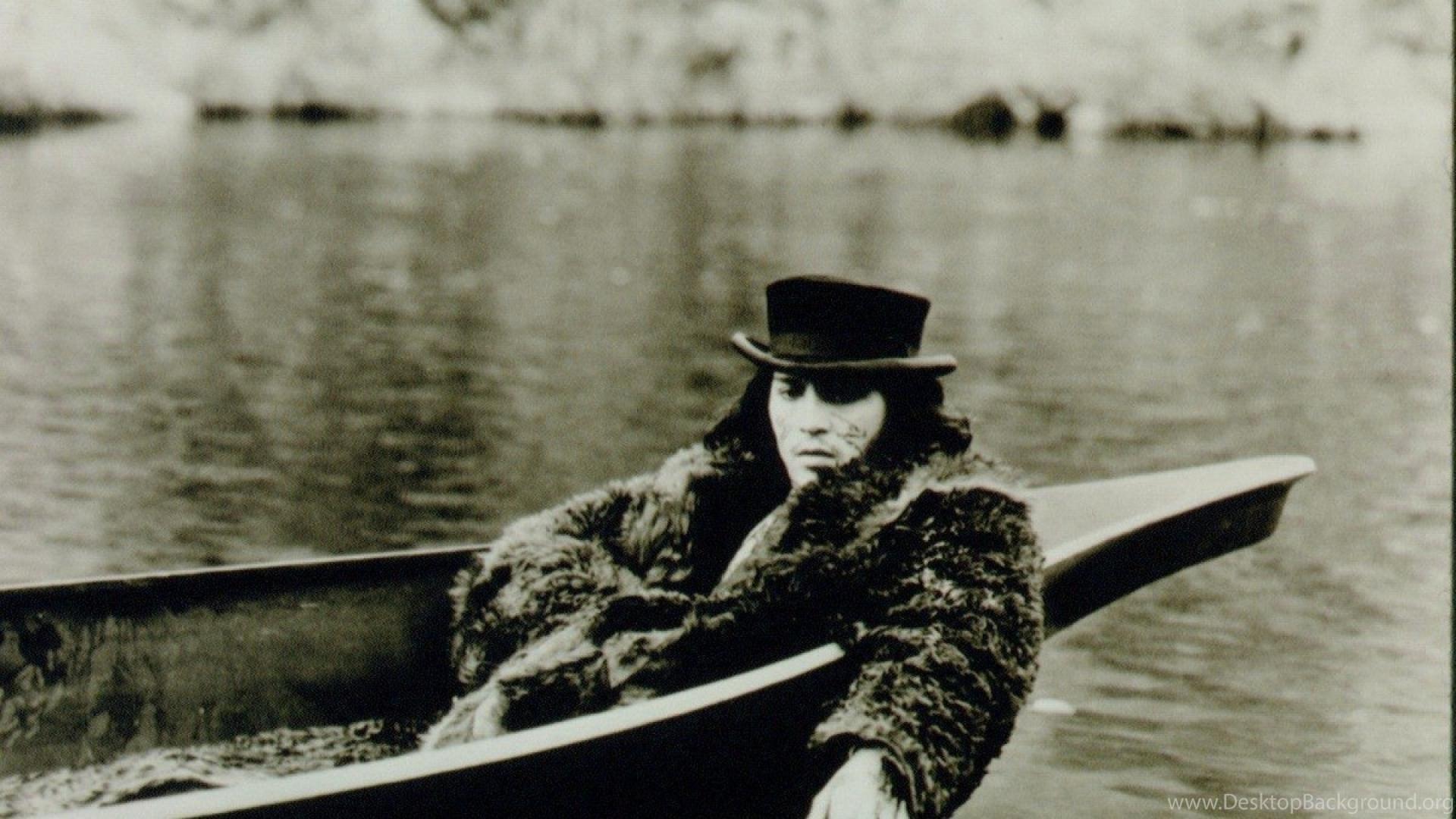 Johnny Depp Rivers Hats Dead Man (movie) Wallpapers