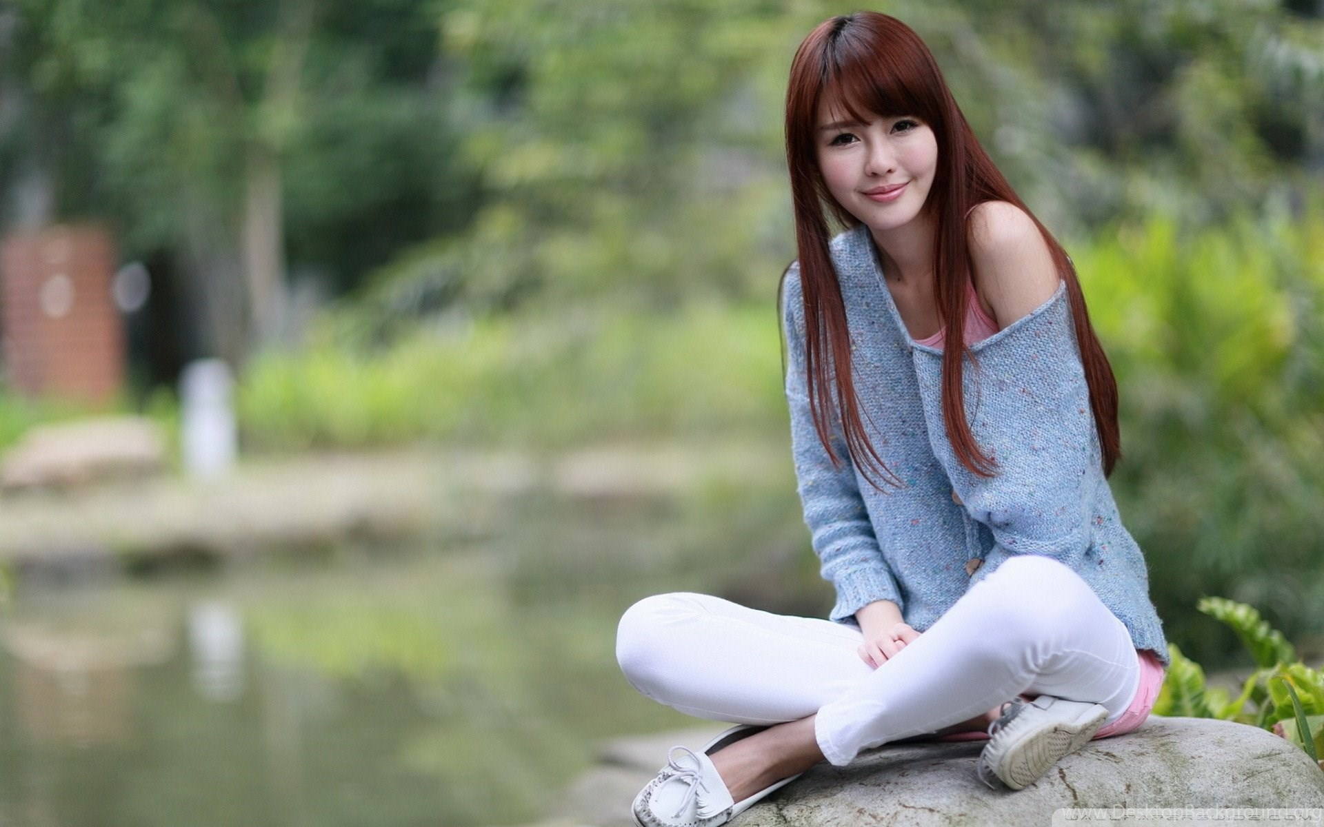 Asian female wallpapers