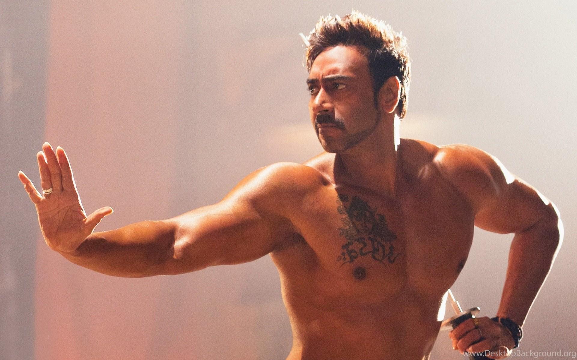 Six pack abs body of ajay devgan bollywood hero desktop background widescreen altavistaventures Images