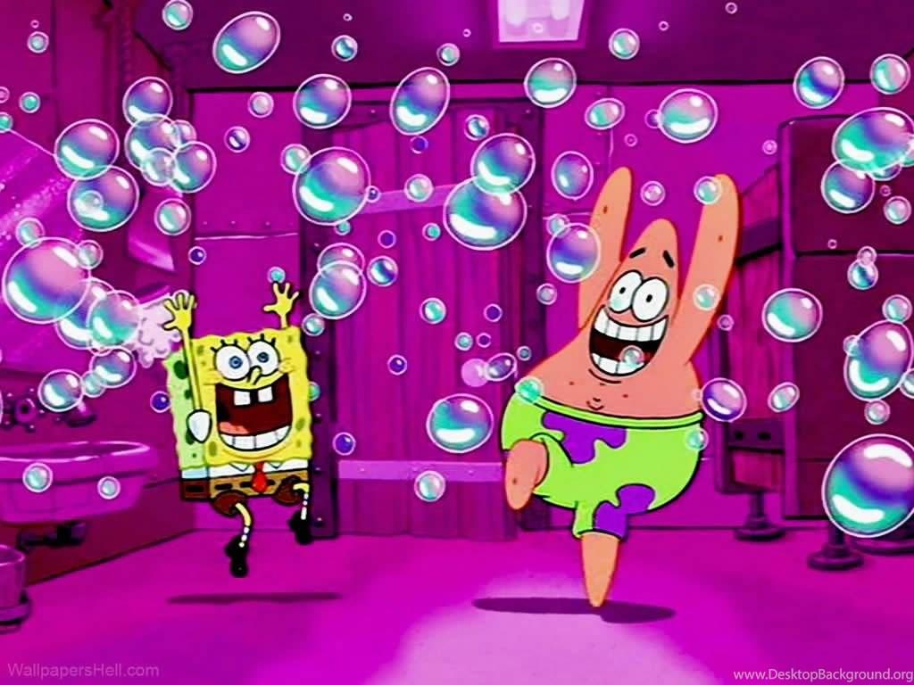 Spongebob Desktop Wallpapers Cave Background