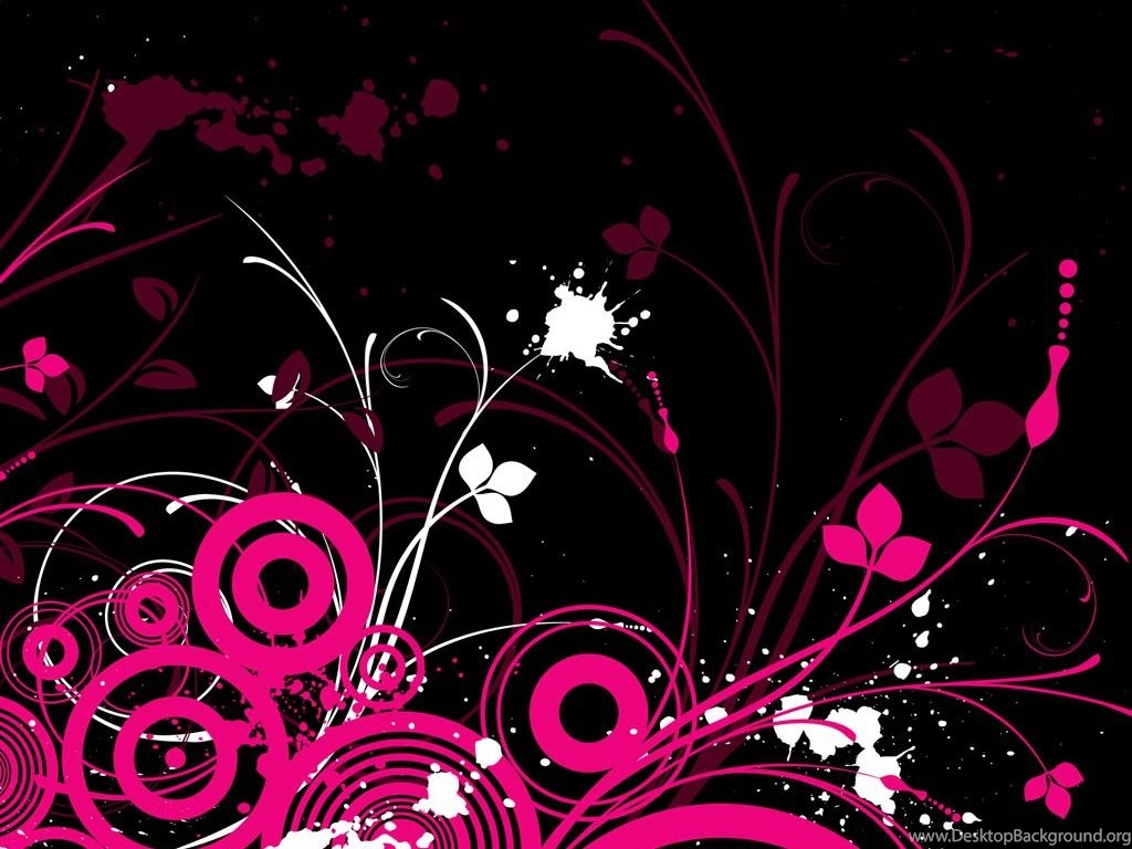 Black Pink Wallpapers Wallpapers Zone Desktop Background