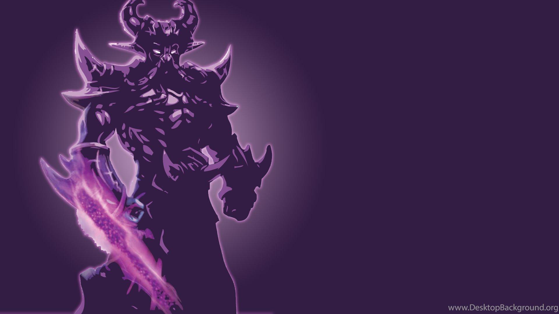 Kassadin Minimalistic Fan Art League Of Legends Wallpapers Desktop