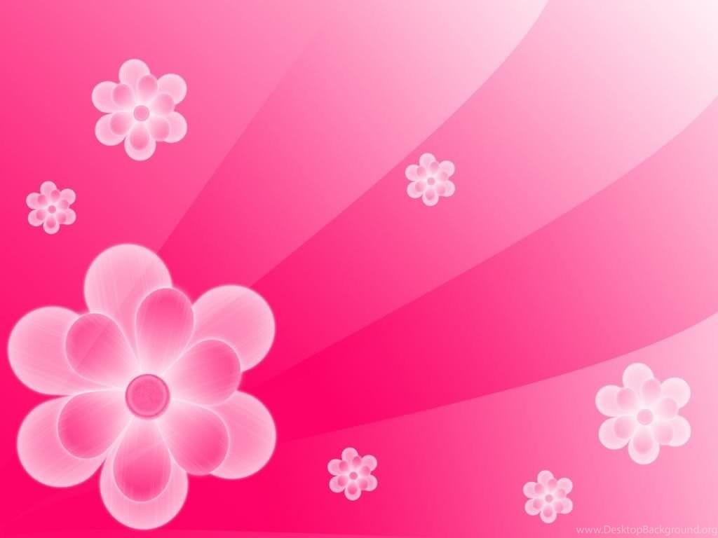 Pink flowers backgrounds wallpapers cave desktop background fullscreen mightylinksfo