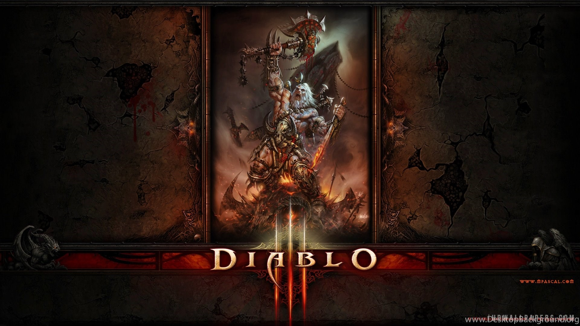 Diablo 3 Demon Hunter Hd Wallpapers Ihd Wallpapers Desktop Background