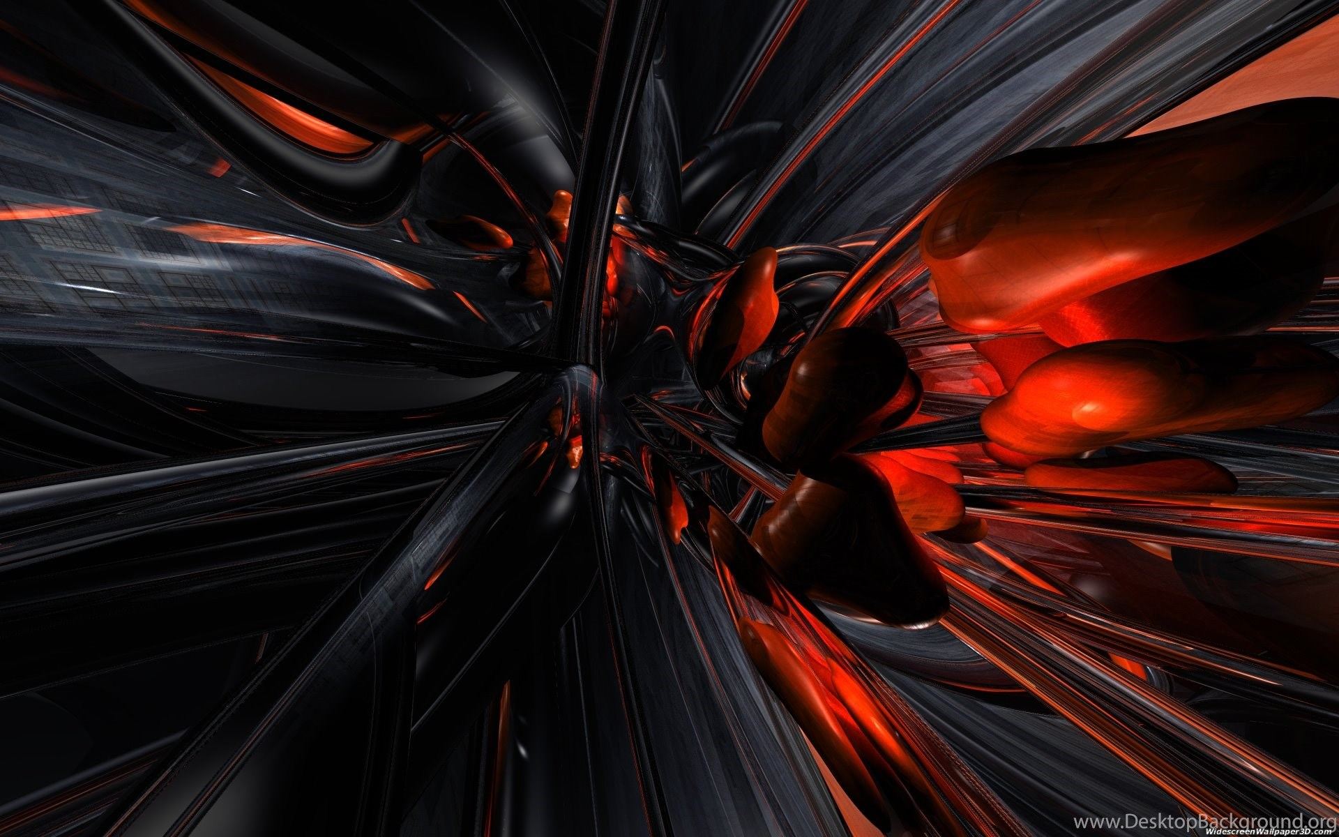 Cool Black Backgrounds Designs: Abstract Wallpaper: Cool Orange Wallpapers HD Backgrounds