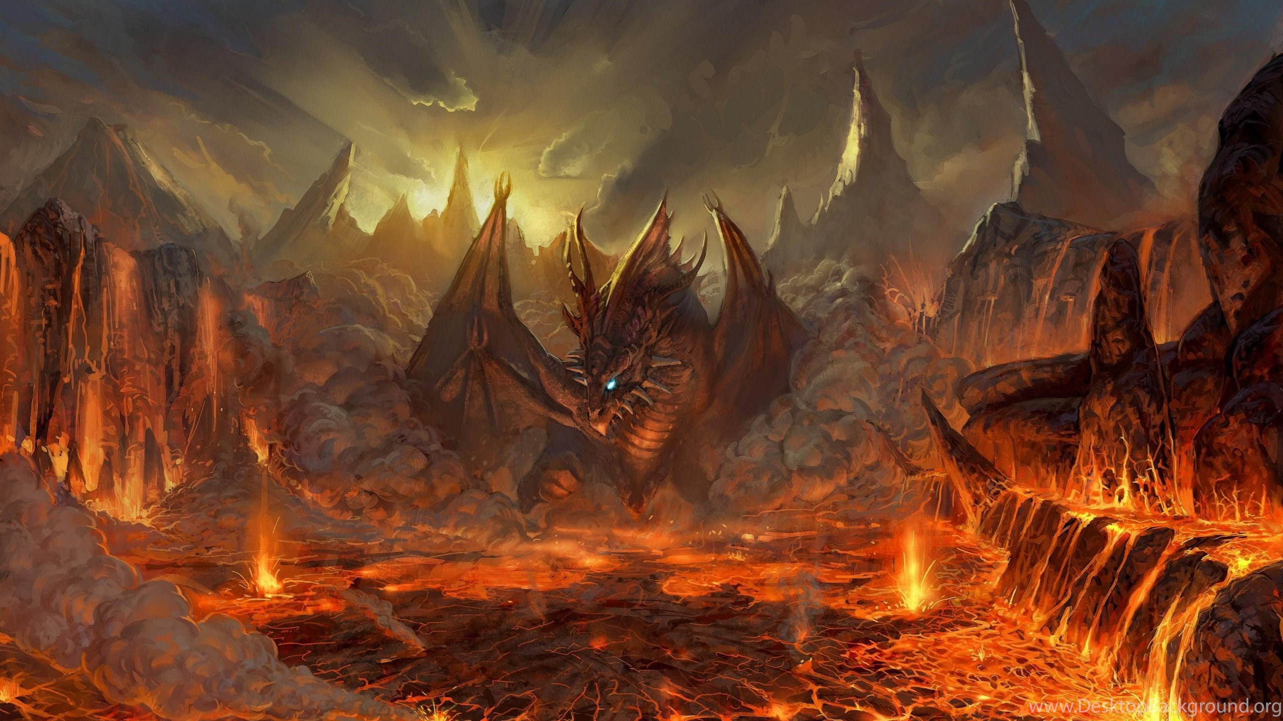 Fire Dragon Fantasy 2560x1440 Hd Wallpapers And Free Stock Photo Desktop Background