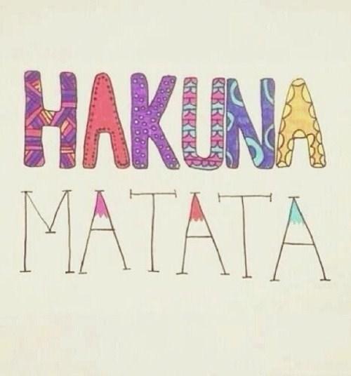 Floral Wallpapers Tumblr Quotes Hakuna Matata At Aquotes Desktop Background