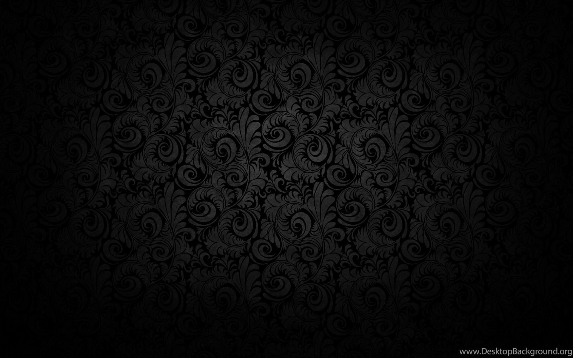 Dark Floral Pattern Desktop Wallpapers The Desktop Background