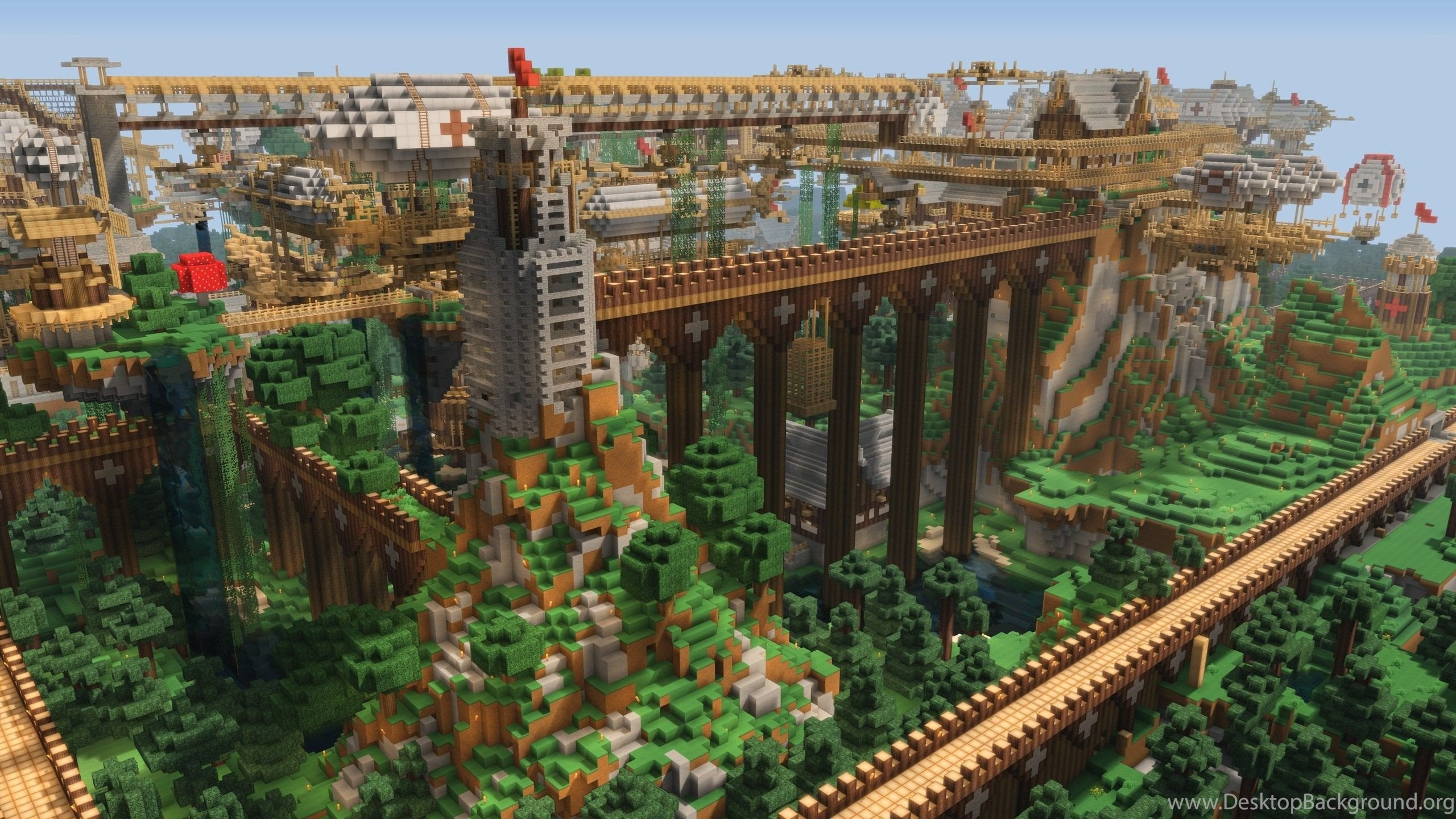 Games: Minecraft Wallpapers For Desktop For High