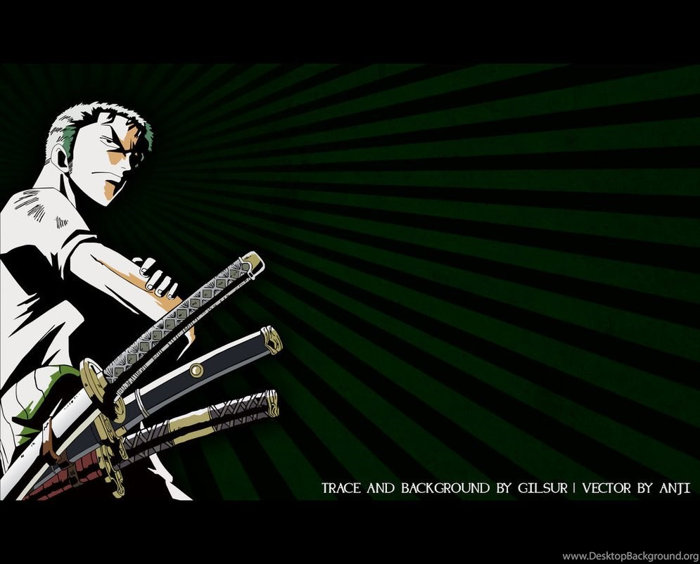 Roronoa Zoro Wallpapers By Gilsur On Deviantart Desktop Background