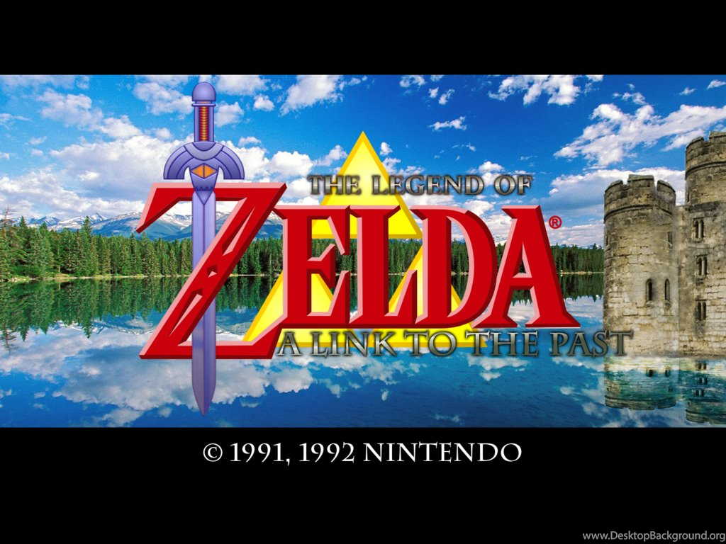A Link To The Past Title Screen By Jar3d226 On Deviantart Desktop