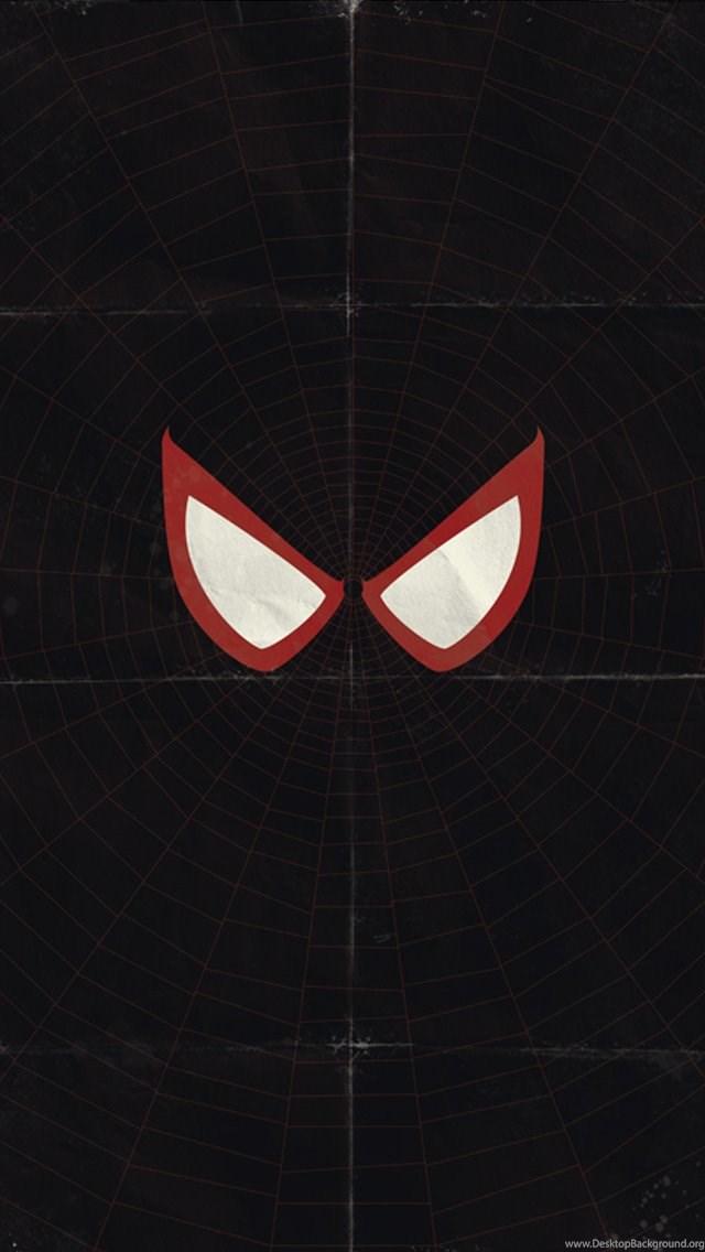 Spiderman Black Iphone 5 Wallpapers 640x1136 Desktop Background