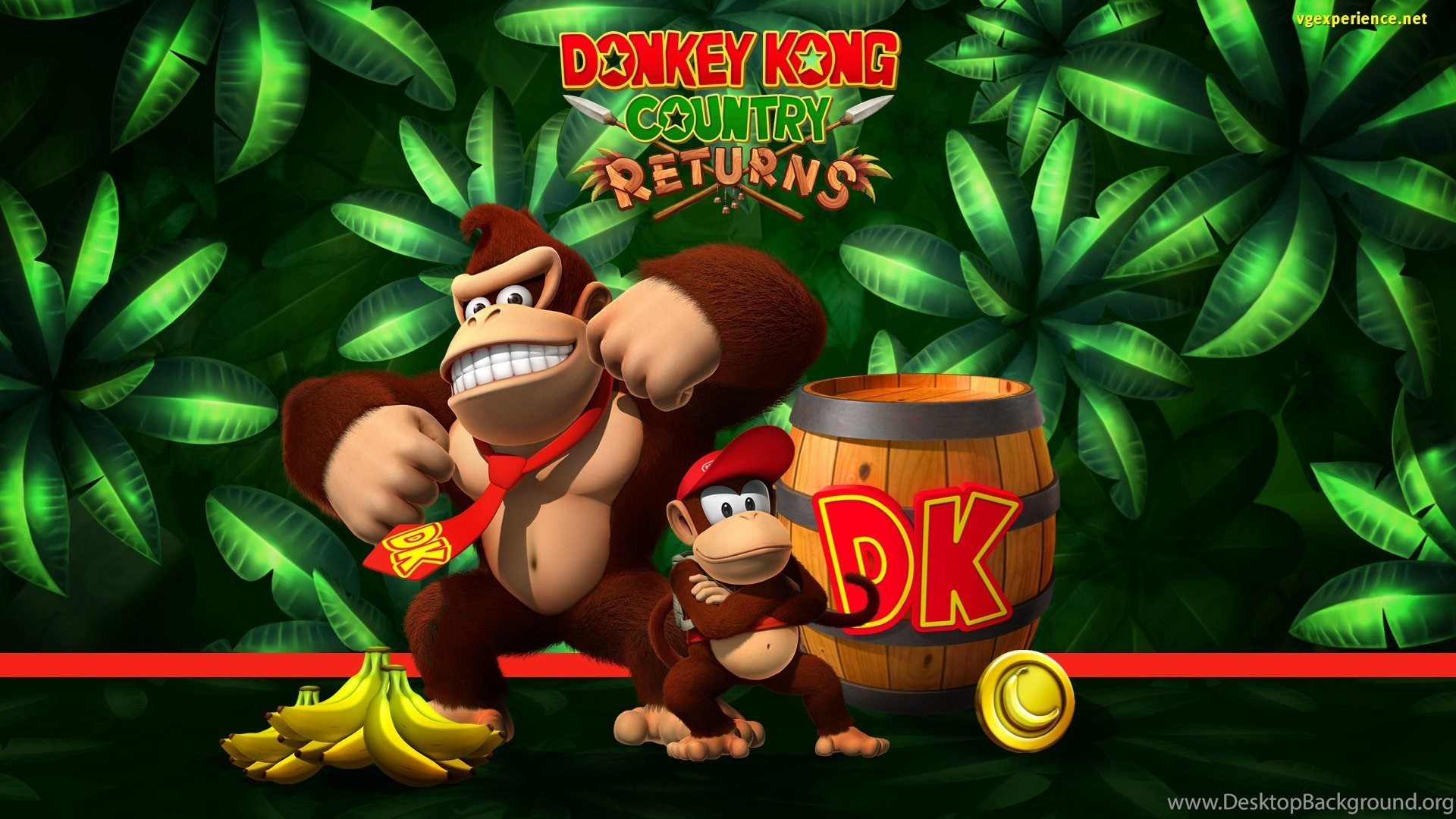 DONKEY KONG Nintendo Family Platform Scrolling Wallpapers