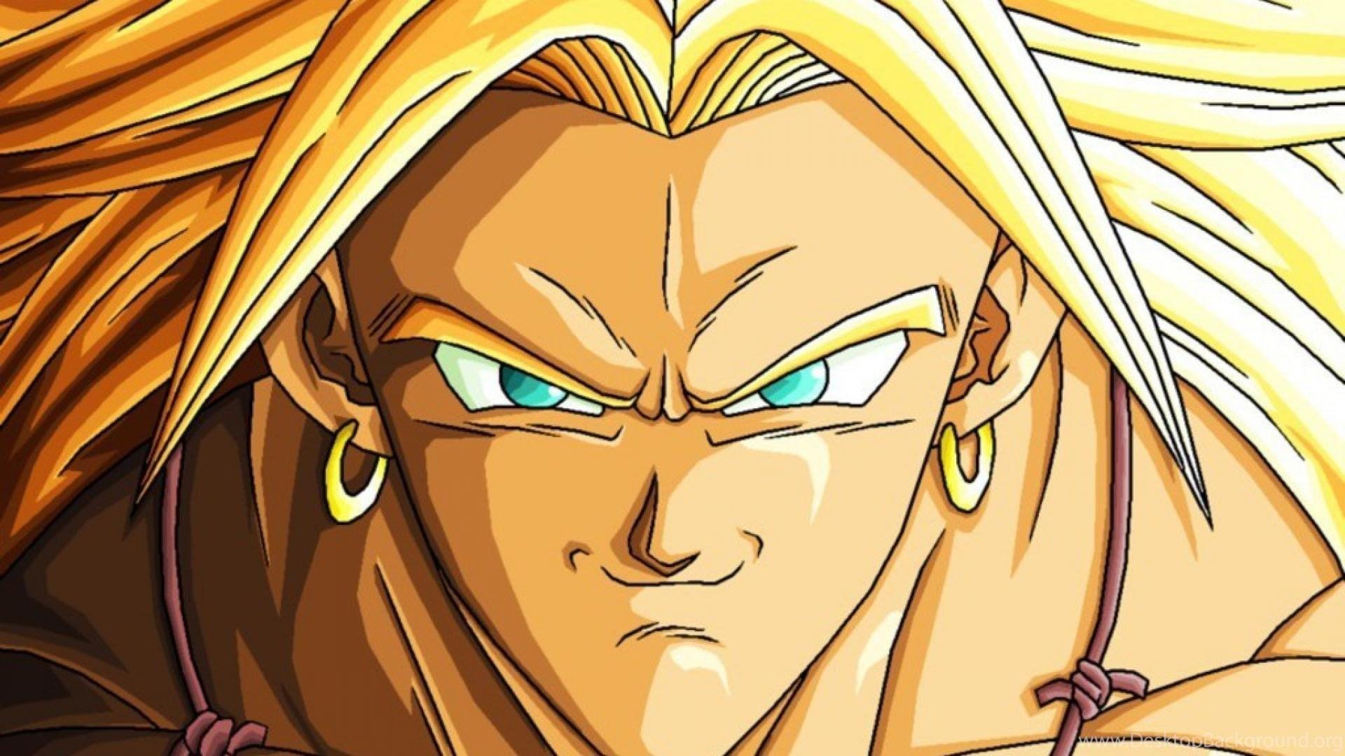 Dragon Ball Z Broly Super Saiyan Wallpapers Desktop Background