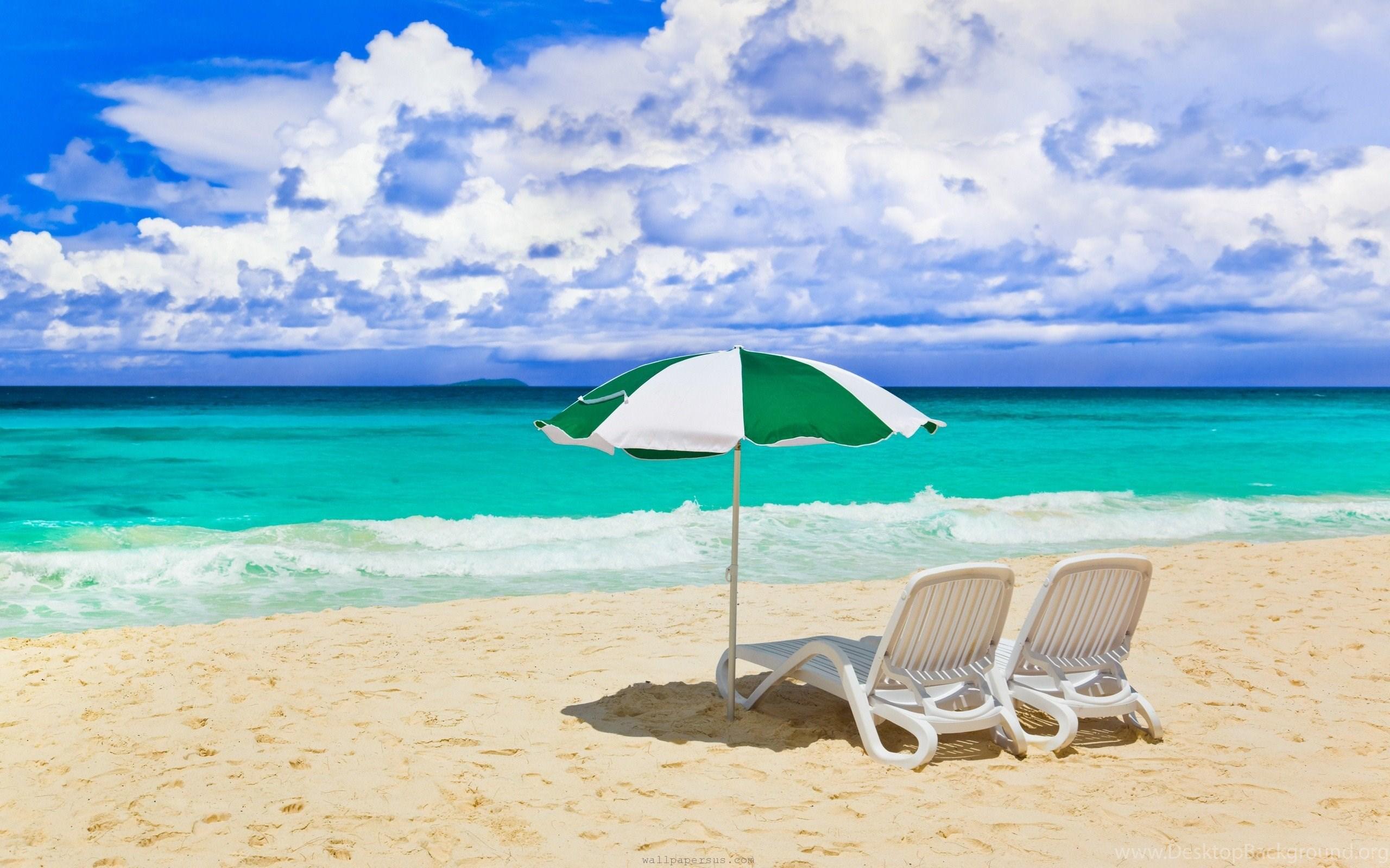 Beach Chair Wallpapers High Resolution Desktop Background